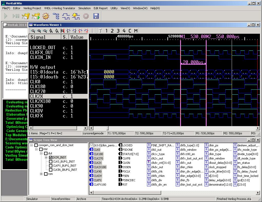 Veritak Verilog HDL Simulator & VHDL Translator