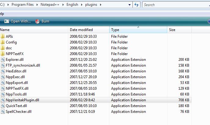 notepad++ plugin